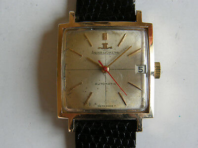 Jaeger Le Coultre-Automatic-Oro Rosa 18Kt(0,750)-Cal.k 881-Anni 60-29 X 29 Mm