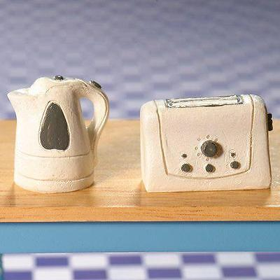 The Dolls House Emporium Modern Kettle & Toaster (PR) 5994 12th Scale