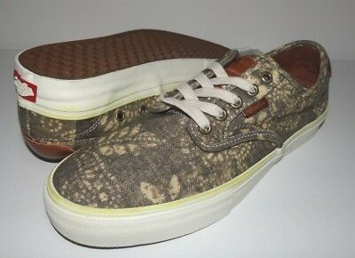 b021324bb1 New Vans Mens Chima Ferguson Pro Canvas Athletic Shoes Size US 9 EU 42 UK 8