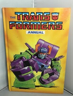 *RARE VINTAGE* Transformers Annual 1988  CLIPPED