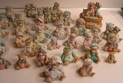 collector HUGE LOT 32 ENESCO HALLMARK CALICO KITTENS & MUSIC BOX SUGAR CREAMER