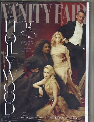 OPRAH WINFREY REESE WITHERSPOON HOLLYWOOD Vanity Fair Magazine 3/18 ZENDAYA SEAL