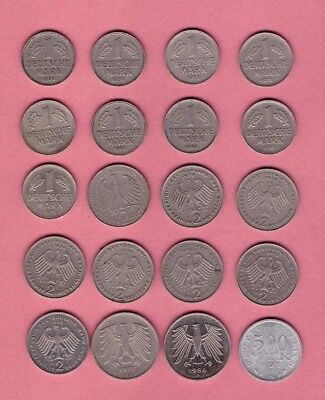 Germany -  Mark Coin Collection - Lot # B - World/Foreign/Europe