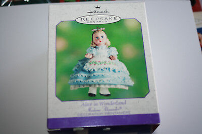"New Hallmark ""Alice in Wonderland"" Madame Alexander Keepsake Ornament 2000"