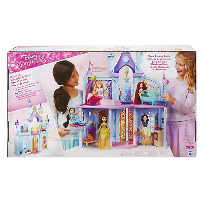 Hasbro Disney Princess Royal Dreams Castle Playset 4 Furnished Rooms Ages 3+