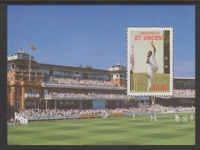 St Vincent Grenadines - 1988, Cricketers of 1988 sheet - MNH - SG MS581