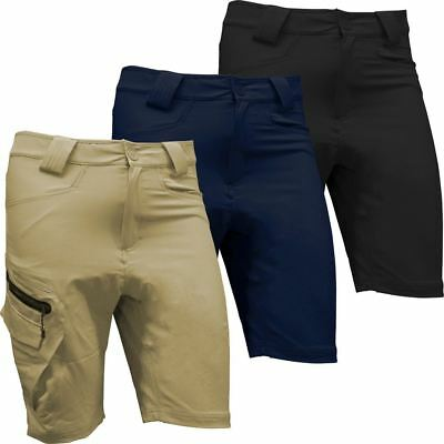 *warehouse Sale!! Hi-Tec Mens Energetic Stretch Cargo Golf Shorts