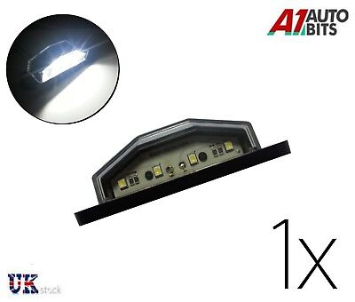 1X 4 White LED Rear Tail License Number Plate Light Lamp 12V Car Truck Trailer
