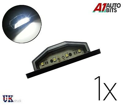 4 Led License Number Plate Light Tail Rear Lamp Car Truck Trailer Lorry Van