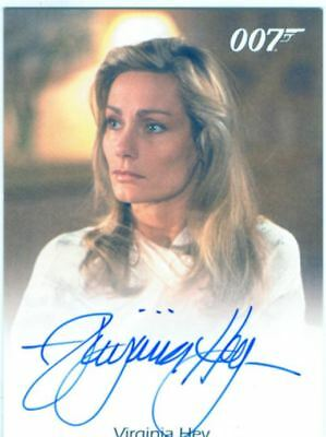 James Bond In Motion Full Bleed Autograph Card Virginia Hey