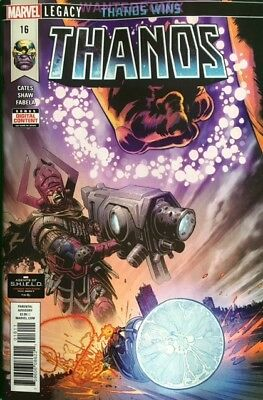 Thanos #16 Secret Origins Of Cosmic Ghost Rider Sold Out Marvel Comic Book 1