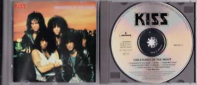 Kiss - Creatures Of The Night - West Germany Cd © 1982 Early Press