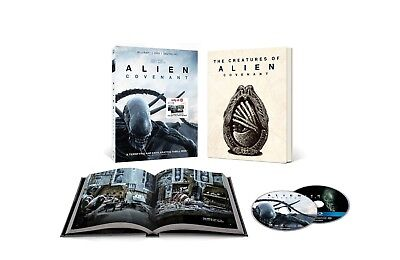 Alien Covenant Limited Edition Blu-Ray Target Exclusive NEW