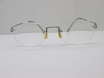 NATURALLY RIMLESS NR-352 EYEGLASSES FRAMES 50-18-140 Blue Rimless ...