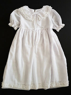 Vintage Baby / Toddler 1960's Gown, Collectors, Reborn Dolls, Bears, Photo Prop