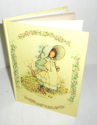 HOLLY HOBBIE 70s Mondadori italy hard cover notebook - quaderno copertina rigida