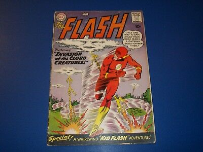 Flash #111 Silver Age 10 cent issue Wow 2nd Kid Flash 1960 Solid Key