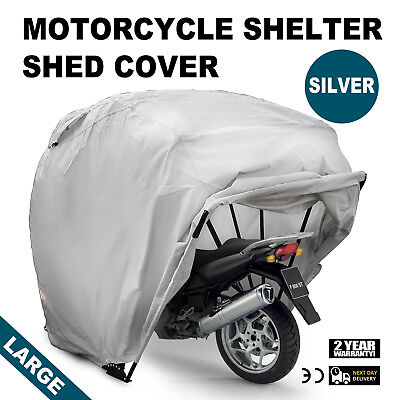 The Bike Shield Large Motorcycle Storage Shelter Cover Tent Garage Shed  sc 1 st  PicClick & THE BIKE Shield Medium Motorcycle Cover Shelter Storage Tent ...