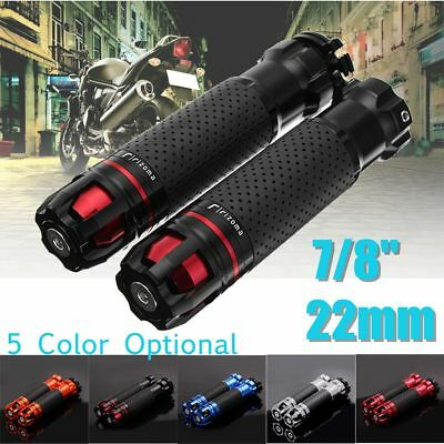 7/8'' 22mm Motorcycle Throttle CNC Aluminum Alloy Rotatable Handlebar Hand Grips