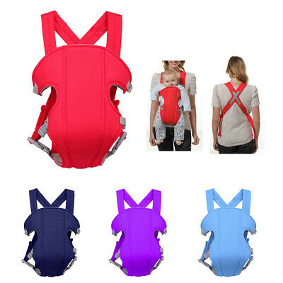 Ergonomic Strong Breathable Adjustable Infant Newborn Baby Carrier Front Back