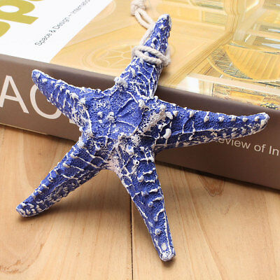 One Mediterranean style Blue Starfish Beach Sea Surf Wedding Decoration Cra