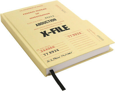 The X-Files Case File Hardcover Journal