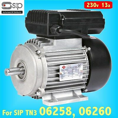 SIP 06555 3hp Motor for Airmate 06258 06260 TN3 SRB Compressor GENUINE PART