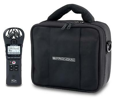 Zoom H1n Handyrecorder Set Tasche Transport Polster Audioaufnahme Band Interview