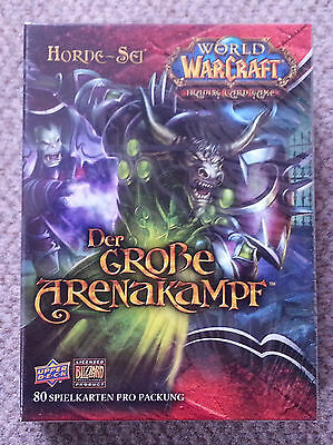World Of Warcraft - Der Grosse Arenakampf - Horde-Set - Neu - Ovp