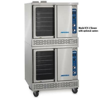 Imperial - ICVDE-2 - Electric Double Bakery Depth Convection Oven