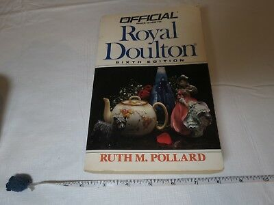 Official price guide to Royal Doulton sixth edition book Ruth Pollard collectilb