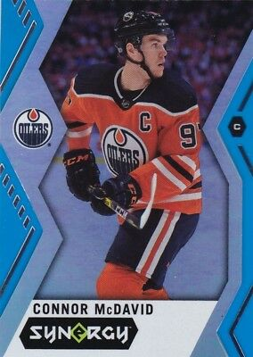 Connor Mcdavid 2017-18 17-18 Upper Deck Synergy Blue Base #1 Oilers