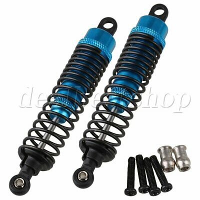 2pcs Blue F106004 Alloy Shock Absorber For RC1:10 Off-road Car Buggy Upgrade