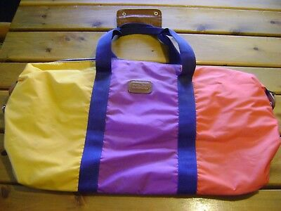 Zumba Weekender Overnight Tote Bag  USED  Great condition   RARE