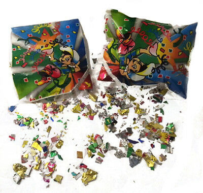 12 Blow Up Confetti Party Boom Bursters