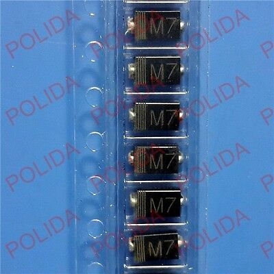 1000PCS Rectifier DIODE TOSHIBA DO-214 ( SMD ) 1N4007 LL4007 M7