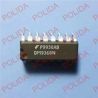 1Pcs Decoder/driver/latch Ic Nsc Dip-16 Dm9368N