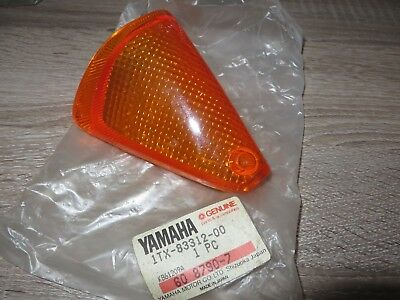 Yamaha Indicator Lens Front Left FJ1200 1TX LEFT FRONT FLASHER LENS ORIGINAL NEW