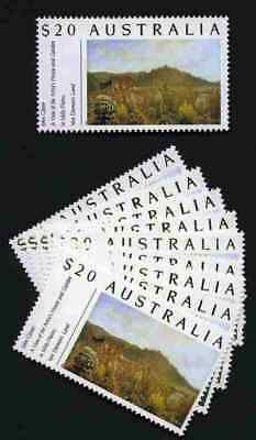 $20.00 Gardens stamps x 10. Save $$$$ mailing those big parcels. Face $200.00.
