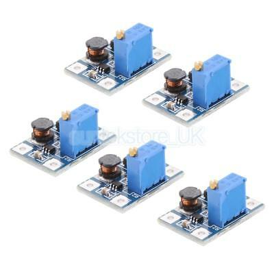 DC to DC Buck Converter 2-24V to 5-35V Power Supply Step Up Module,Pack of 5