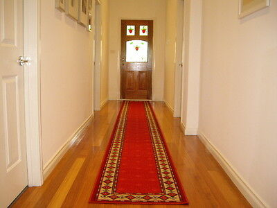 Hallway Runner Hall Runner Rug Patterned Designer 4 Metres Long FREE DELIVERY