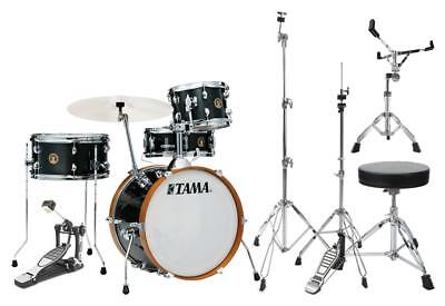 Tama LJK48S-CCM Club Jam Kit Charcoal Mist Set Hardware Schlagzeug Zubehör black