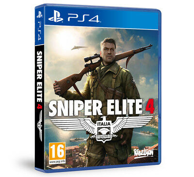 Sniper Elite 4 (PS4)  BRAND NEW AND SEALED - IN STOCK - QUICK DISPATCH