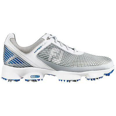 FootJoy Mens Hyperflex Golf Shoes White / Grey - Waterproof Trainers Sport Style