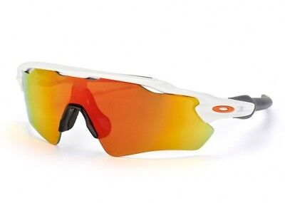 f129fea9731 New Oakley Radar Ev Path Polished White Fire Iridium Oo9208-16 Sunglasses
