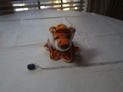 TY beanie babies baby tiger Oasis birth June 1 2008 stuffed animal has tags