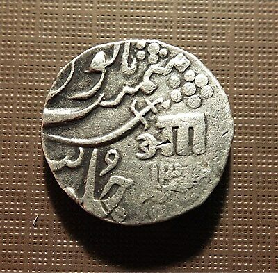 India, Baroda State - Silver Rupee, Anand Rao - Ah1233//13 - 1818Ad C#27    Tntk