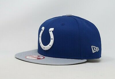 newest collection 365ab 34cdd NEW ERA 9Fifty Cap Indianapolis Colts Baycik Snapback Blue Adjustable Hat  Cotton