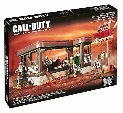 Mega Bloks CNG84 - Call of Duty – Zombie Resturant ZombiesTranZit Diner Building