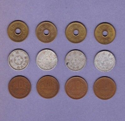 Japan - Coin Collection Lot # CC - World/Foreign/Asia